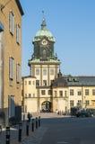 Holmentornet industrial landscape Norrkoping Stock Image