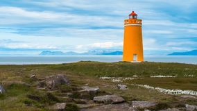 Holmsbergsviti lighthouse stock image