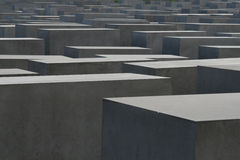 The Holocaost Memorial, Berlin Royalty Free Stock Photo
