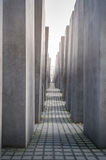 The Holocaost monument in Berlin. stock images