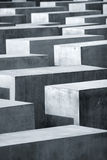 Holocaust. The Holocaust memorial monument in Berlin, Germany Stock Photo