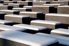 Holocaust-Denkmal Lizenzfreies Stockbild