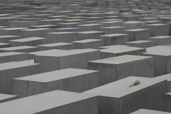 Holocaust-Denkmal - 01 Stockbild