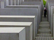 Holocaust-Denkmal Stockfoto
