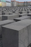 Holocaust-Denkmal Berlin Stockfotos