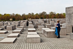Holocaust-Denkmal, Berlin Lizenzfreies Stockfoto