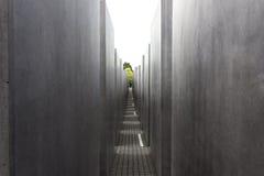 Holocaust-Denkmal Berlin Stockfoto