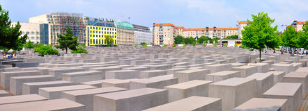 Holocaust-Denkmal, Berlin Germany Stockbilder