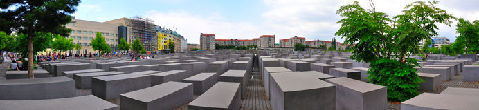 Holocaust-Denkmal, Berlin Germany Lizenzfreies Stockfoto