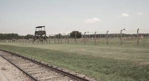 Holocaust Erinnerungs-Auschwitz - Birkenau - Polen Lizenzfreies Stockfoto