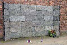 Holocaust Erinnerungs-Auschwitz - Birkenau - Polen Stockfotografie