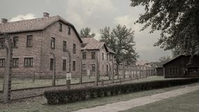 Holocaust Erinnerungs-Auschwitz - Birkenau - Polen Lizenzfreies Stockbild