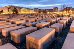 Holocaust Erinnerungsberlin Deutschland Stockbild
