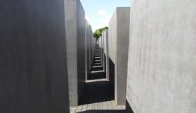 Holocaust Herdenkingsmuseum - 9 Juni, 2015 - Berlijn, Duitsland Royalty-vrije Stock Afbeeldingen