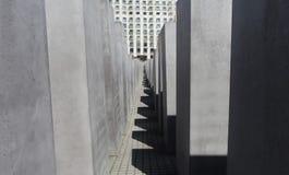 Holocaust Herdenkingsmuseum - 9 Juni, 2015 - Berlijn, Duitsland Royalty-vrije Stock Fotografie