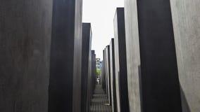 Holocaust Herdenkingsmuseum - 9 Juni, 2015 - Berlijn, Duitsland Stock Foto