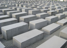 Holocaust Mahnmal Stock Photos