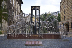 Holocaust Memorial Royalty Free Stock Photo