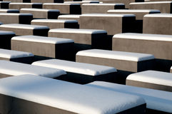 Holocaust Memorial. In West Berlin Royalty Free Stock Image