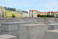 Holocaust Memorial also known as Memorial to the Murdered Jews of Europe, Berlin, Germany Royalty Free Stock Photos