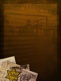 Holocaust Memorial Background stock illustration