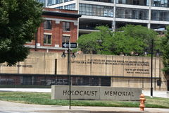 The Holocaust Memorial in Baltimore, Maryland royalty free stock photo
