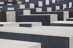 Holocaust Memorial in Berlin Stock Image