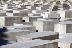 Holocaust Memorial Berlin Royalty Free Stock Image