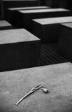 Holocaust memorial Berlin Royalty Free Stock Photography