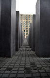 Holocaust memorial - berlin Stock Photo