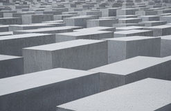 Holocaust memorial in berlin Royalty Free Stock Images