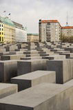 Holocaust Memorial in Berlin Royalty Free Stock Photos