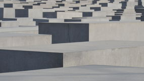 Holocaust memorial (Berlin) Royalty Free Stock Photo