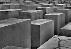Holocaust memorial in Berlin Royalty Free Stock Photography