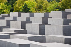 Holocaust Memorial, Berlin, Germany. Royalty Free Stock Photo