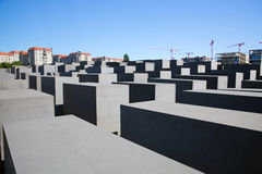 The Holocaust Memorial, Berlin Royalty Free Stock Image
