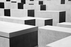The Holocaust Memorial, Berlin Royalty Free Stock Images