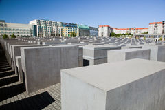 The Holocaust Memorial, Berlin Stock Photography
