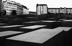 Holocaust Memorial, Berlin, Germany Royalty Free Stock Photos