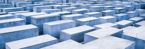 Holocaust memorial in Berlin, Germany Stock Image