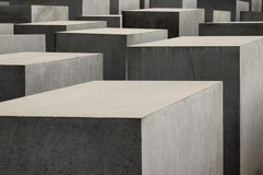 Holocaust memorial in Berlin, Germany Stock Photos