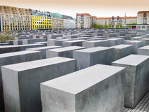 Holocaust Memorial, Berlin, Germany Royalty Free Stock Photo