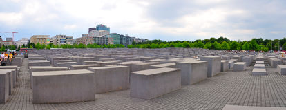 Holocaust Memorial, Berlin Germany Royalty Free Stock Photos