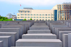 Holocaust Memorial, Berlin Germany Stock Photography