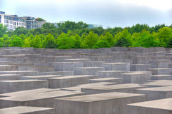 Holocaust Memorial, Berlin Germany Stock Images