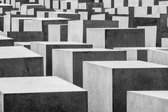 Holocaust Memorial Berlin. Overview of holocaust memorial in Berlin Germany Stock Image