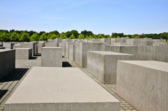 Holocaust Memorial, Berlin Stock Images