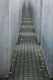 Holocaust Memorial in Berlin Stock Images