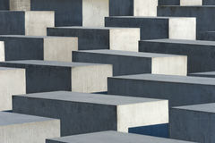 Holocaust Memorial in Berlin Stock Photos