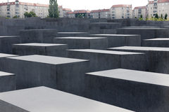 The Holocaust Memorial in Berlin Royalty Free Stock Photos